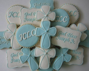Baptism/Christening/First Communion Cookies