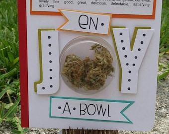 Cannabis Greeting Card #11 by Hempmark