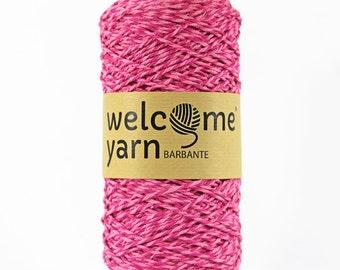 Shades of Pink Barbante Yarn