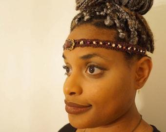 Royal Fairy Headband/Choker | Burlesque Pin-Up Fairy