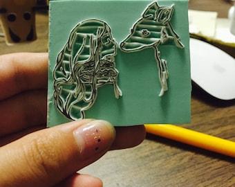 Lovely Eraser Stamp