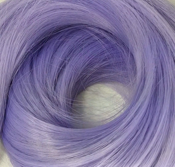 Whisper Lavender Nylon Doll Re-rooting Hair for Barbie, Monster High, Ever After, Sindy, Dawn, Crissy, Blythe Rehair My Little Pony