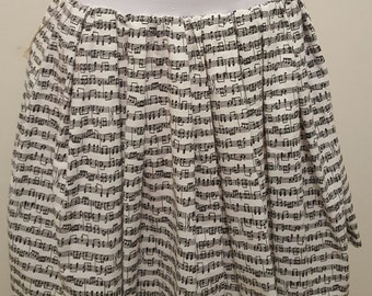 Music Note Skirt w/Pockets