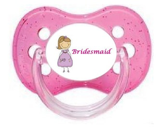 UNIQUE Dummy Pacifier Soother, All Teats, Sizes & Colours, BRIDESMAID 7