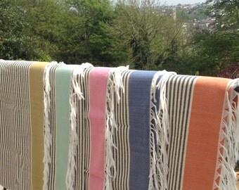 Moroccan beach towel - free UK shipping