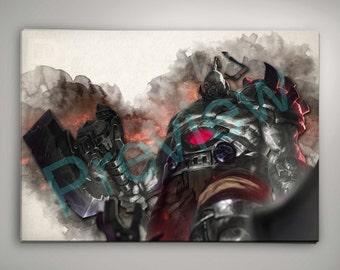 Sion League of Legends Watercolor