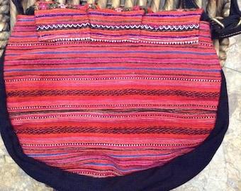 Hmong hand embroided shoulder bag