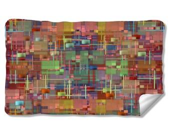 Abby Patch Square Velveteen Fleece Blanket