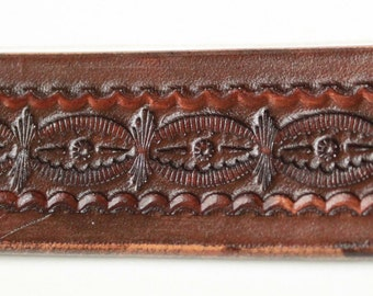 Custom Made Leather Belts Small Medium, Large, Extra Large, XXL, XXXL, Geometric