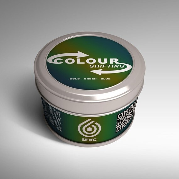 Colour Shifting Pigments - Gold to Blue