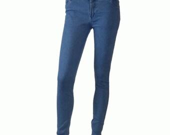 Blue slim/skin tight jeans – Ladies