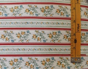 Marshall Dry Goods Ticking Stripe Red, MDG, quilting fabric