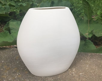 Ceramic Bisque - Ukrainian Vase - Ready to Paint