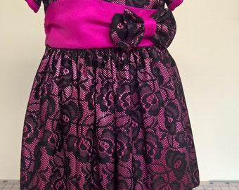 handmade girls occasion dress