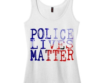 Support Our Officers Tank Top