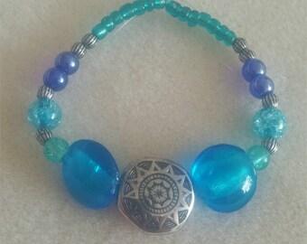 Blue Sun Bracelet