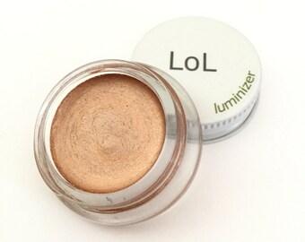 Organic Luminizer,  Multitasker, Vegan, for Medium to Darker Skin Tones,  Highlighter