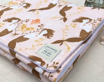 Mermaid Snuggle Blanket