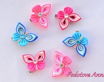 Butterfly headband/hair clips
