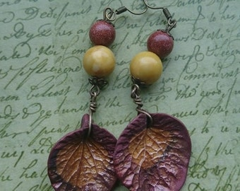Beautiful Decay earrings