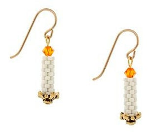 Candle Stick Earrings