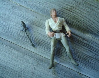 Luke Skywalker action figure - Vintage Star Wars toy - Luke Skywalker toy - Star Wars toy - Vintage action figure - Star Wars action figure