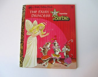 Barbie Little Golden Book-The Fairy Princess 1977