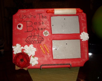 Best Baker picture frame