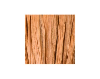 Raffia Brown clear mast - artificial raffia - 10gr - raffia Ribbon - raffia thread