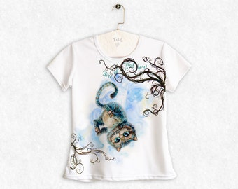 Cheshire Cat / Alice Through the Looking Glass (2016) / Women's  T-Shirt