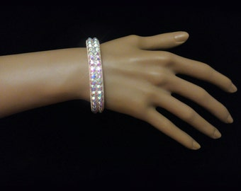 Bracelet Swarovski crystals for ballroom dancing