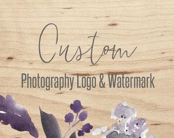 Custom Photography LOGO & Watermark design
