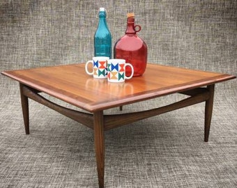 Mid Century Danish Modern Coffee Side Table