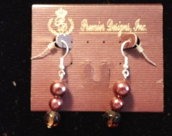 Premier Designs Mahogany earrings