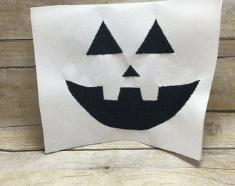 Pumpkin Face Embroidery Design,Face Of Pumpkin Embroidery Design