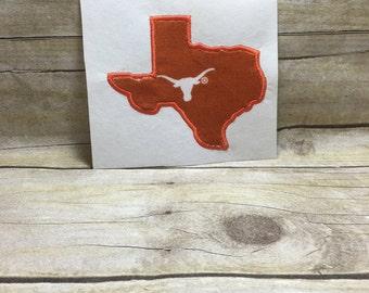Texas Applique, Texas Embroidery Design Applique