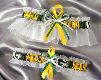Greenbay Packers Garter Set