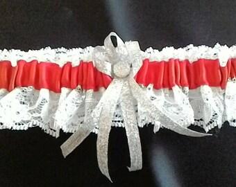 Handmade prom/wedding garter