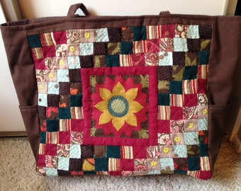 Fall Sunflower Bag