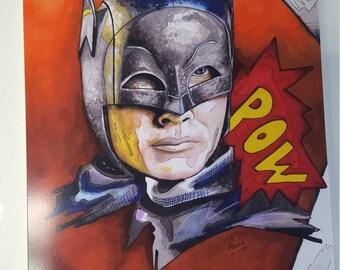 Adam west batman print