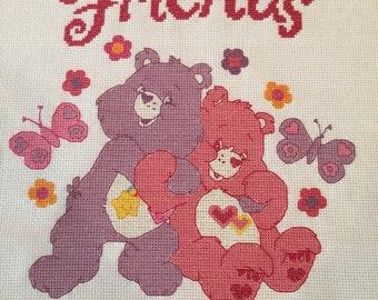 Care Bear Friends Cross-Stitch