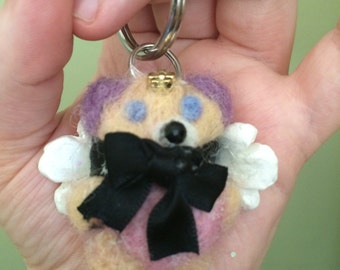 Angel Bear Keychain Buddy ( large )