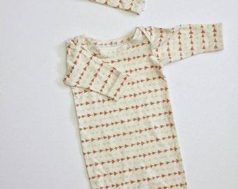 Newborn Gown Set