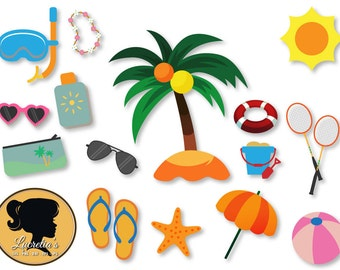 """Shop """"beach svg"""" in Drawing, Painting & Writing Supplies"""