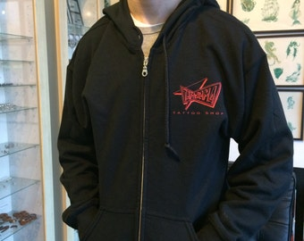 Tat-A-Rama Zip-Up Hoodies
