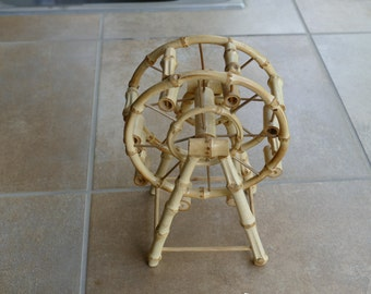 Bamboo decorative ferris wheel