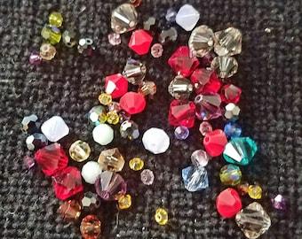 Lot of  Swarovski crystal beads