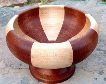 Segmented Pedestal Bowl