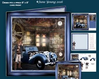 Steampunk Classic Car