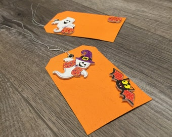 Set of 2 Halloween Gift Tags